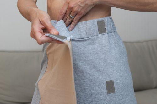 Jupe-Couvrante pour habillage-facile attaches velcro